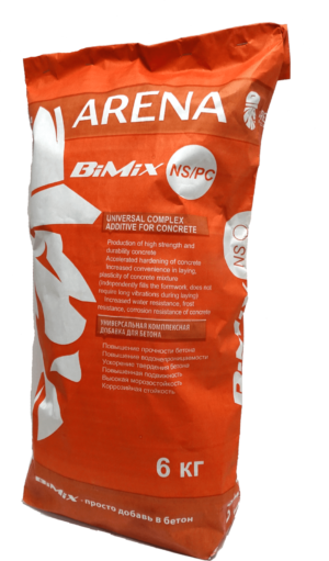 ARENA BiMix NS/PC универсальная добавка в бетон